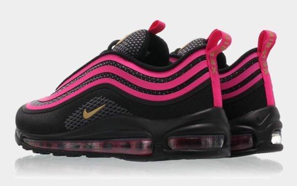 Фото Nike Air Max 97 Ultra черно-розовые - 2