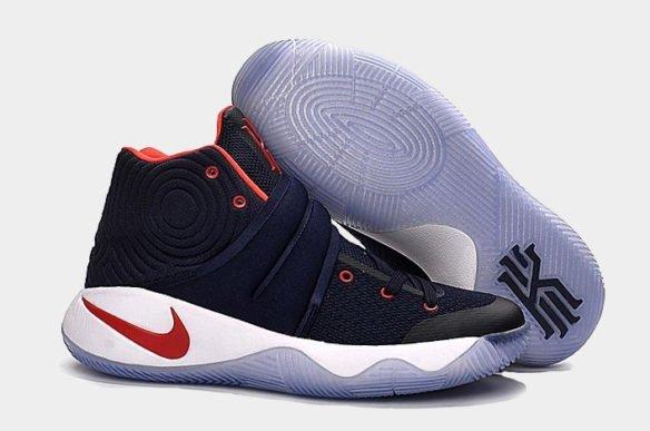 Фото Nike Kyrie 2 USA темно-синие - 3